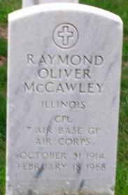 Raymond Oliver McCawley