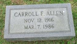 Carroll F. Allen