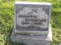 Henrietta <i>Sullivan</i> McFarland