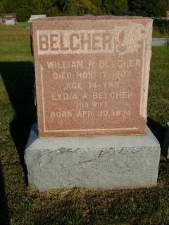 Lydia A <i>Hunt</i> Belcher