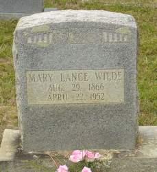 Mary Sofronia <i>Lance</i> Wilde