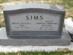 Annette Christina Christie <i>Pitcher</i> Sims