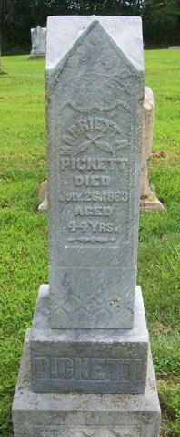 Harriett A. <i>Robinson</i> Pickett