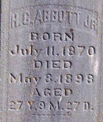 Henry C Abbott, Jr