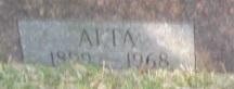 Alta <i>Hill</i> Acker