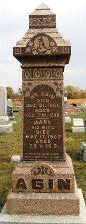 Mary <i>Montgomery</i> Agin