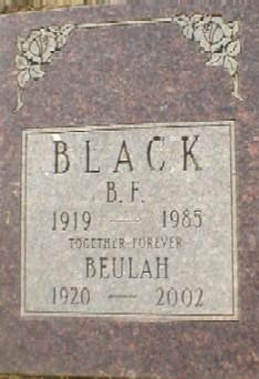 Beulah <i>Burgess</i> Black