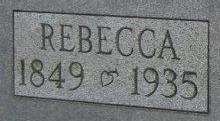 Rebecca Josiah <i>McDuffie</i> Sharkey