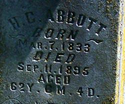 Henry C Abbott, Sr