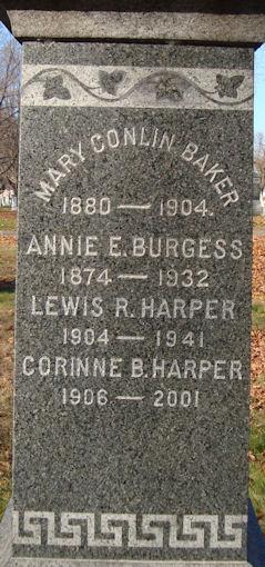 Annie E Burgess