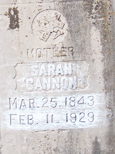 Sarah Jane <i>Johnson</i> Cannon