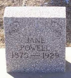 Frances Jane <i>Thomas</i> Powell