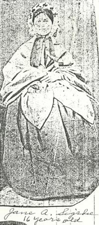 Jane Augusta Jennie <i>Sigsbee</i> Smith