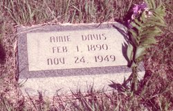 Amie Alice <i>Williams</i> Davis