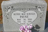 Ruthie Mae <i>Scruggs</i> Payne