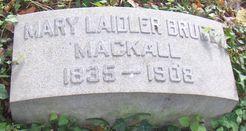 Mary Laidler <i>Bruce</i> Mackall