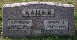 Katherine <i>Imhoff</i> Bauer