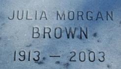 Julia <i>Morgan</i> Brown