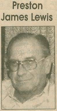 Preston James Lewis