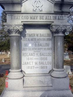 Roland Hunnewell Ballou