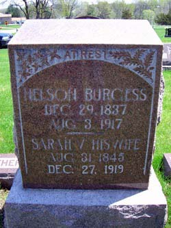 Sarah Virginia <i>Powers</i> Burgess