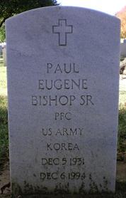 Paul Eugene Bishop, Sr