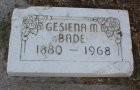 Gesiena Margaretha <i>Schumann</i> Bade