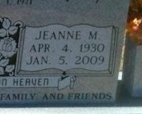 Jeanne M. Moore