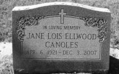 Jane Lois <i>Ellwood</i> Canoles