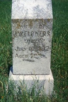 Margaret <i>Ottinger</i> Flowers