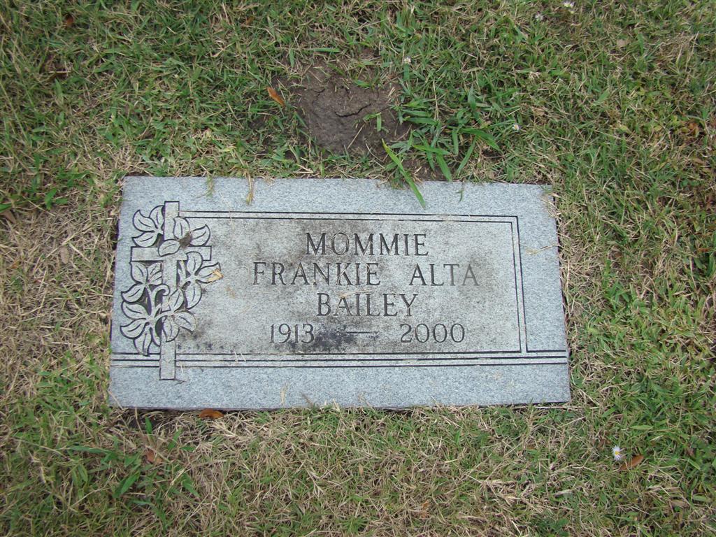 Alta Melissa Doyle Bailey (1913 - 2000) - Find A Grave Photos