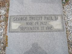 George Truett Paul, Sr