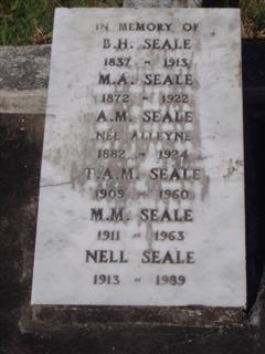 Annie Maud <i>Alleyne</i> Seale
