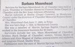Barbara <i>Hodge</i> Moorehead
