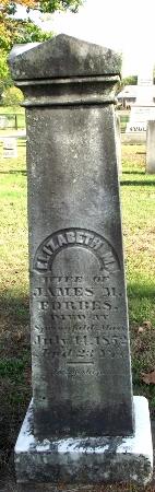 Elizabeth Mary <i>Dorman</i> Forbes