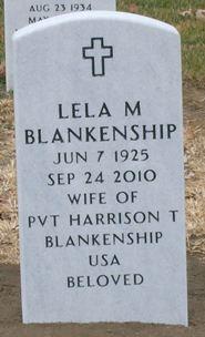 Lela M. <i>Neer</i> Blankenship