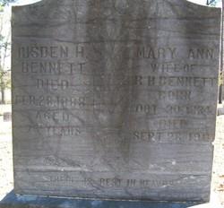 Mary Ann <i>Allen</i> Bennett
