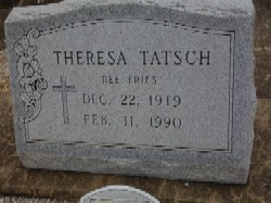 Theresa Emily <i>Fries</i> Tatsch