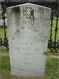 Sgt John Waller Aldridge