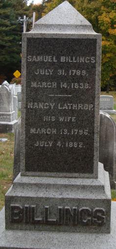 Nancy <i>Lathrop</i> Billings