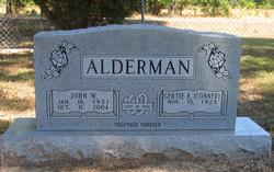 Gertie Elizabeth <i>Conner</i> Alderman