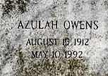 Azulah <i>Owens</i> Harrison