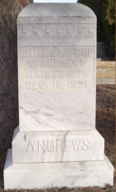 Mrs Emma Josephine <i>Pickens</i> Andrews