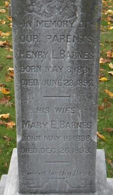 Mary Ellen <i>Longston</i> Barnes