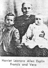 Harriet Lenora <i>Allen</i> Esplin