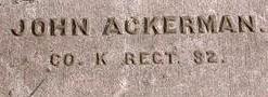Corp John Ackerman
