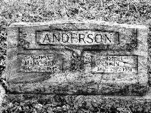 Mary Ann <i>Mills</i> Anderson