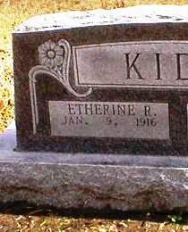 Etherine <i>Robertson</i> Kidd