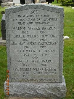 Marion <i>Weeks</i> Barron