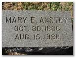 Mary Etta <i>George</i> Anstey